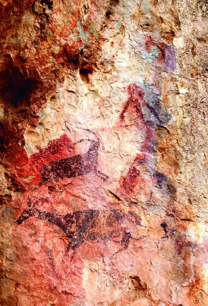 Pintures rupestres de Cabrafeixet. Autor Gonzalvoimatge