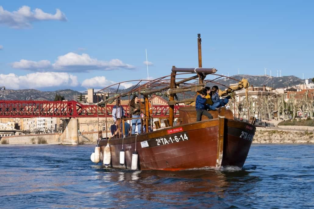 Navegació fluvial - Ajuntament de Tortosa - Oscar Lanau