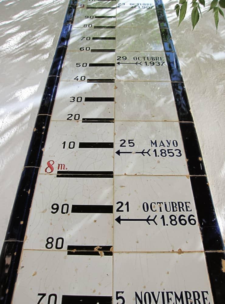 Limnígraf (escala fluvio-mètrica) - Foto Antoni LD - @ld_antoni