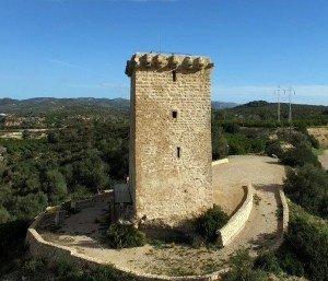 Torre de Font de Quinto. SXIII. Foto Gerard March